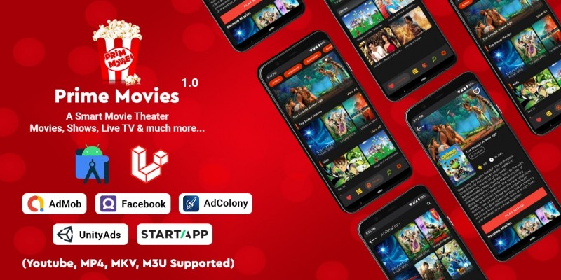 Prime Movies - Watch Live TV Shows Movies - Androi
