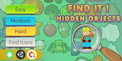 Find It Hidden Object Game- Unity Complete Project