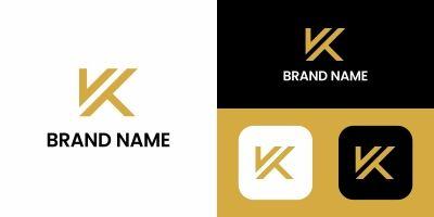 Letter K Logo Design Template