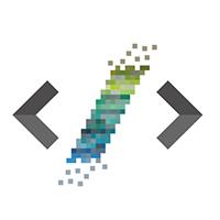 Pixel Code Logo