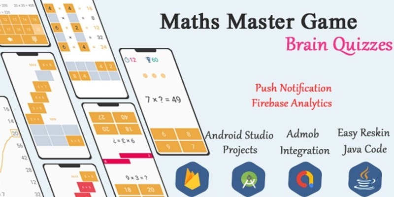 Math Game - Android Game Source Code