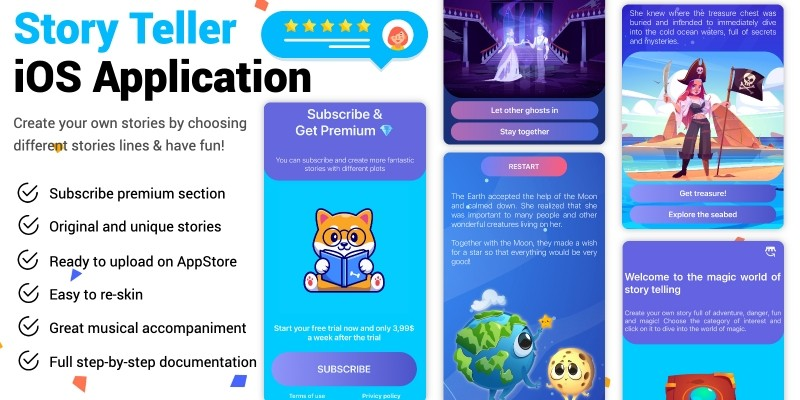 Story Teller iOS Application