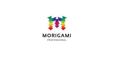 Morigami Letter M Logo