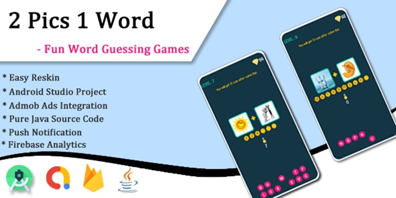 2 Pics 1 Word - Android App Source Code