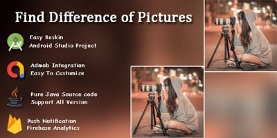Find the Difference Games - Android Studio Project