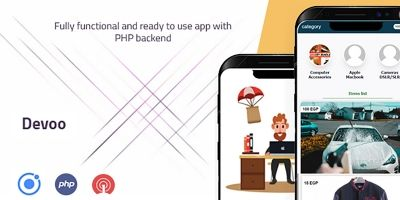 Devoo Ionic 5 App With Backend