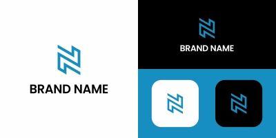 Letter N Logo Modern Design Template