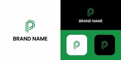 Letter P Logo Design Template