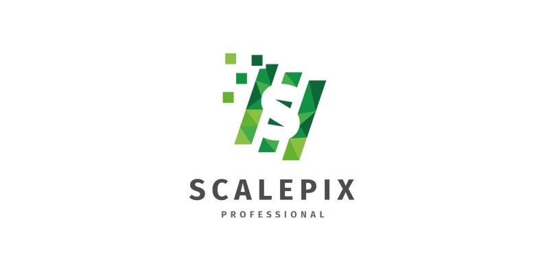 Scalepix - Letter S  Logo