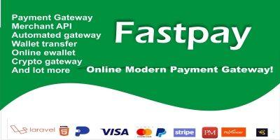 Fastpay - Online Modern Payment Gateway