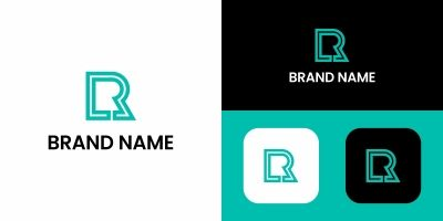 Letter R Logo Template
