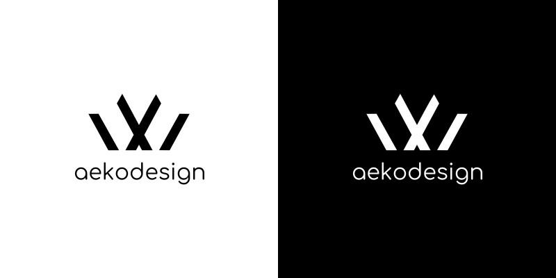 Simple Modern Letter W Logo