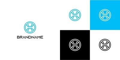 Modern X Logo