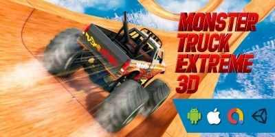 Monster Truck Extreme 3D Unity Project