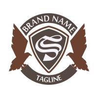 Eagle Crest Emblem Logo