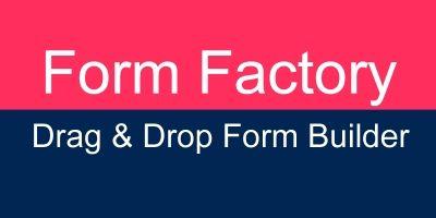 Form Factory - WordPress Form Builder