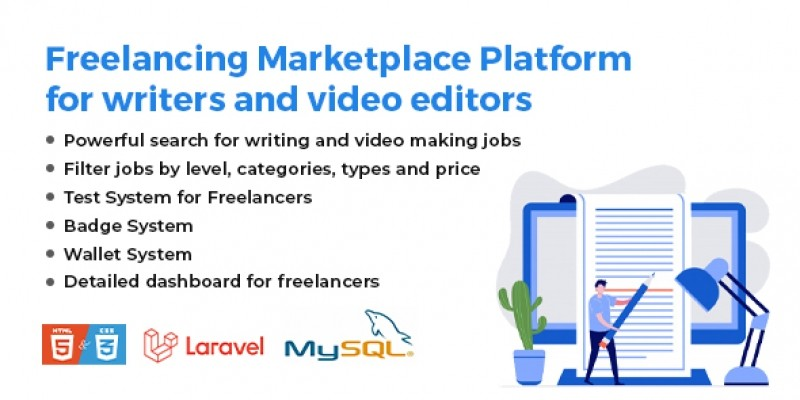 Resell Content - Freelancing Platform for Writers