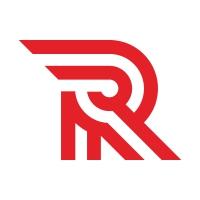 R Letter Tech Logo Design