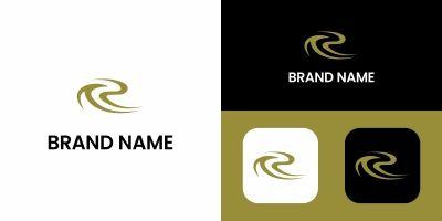 R Letter Sport Logo Design
