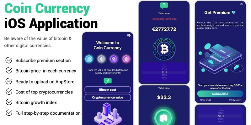 Coin Currency iOS Application