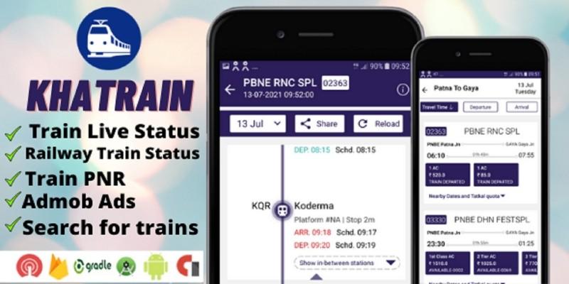 Khatrain - Android App Source Code
