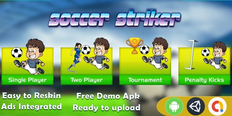 Soccer Striker Unity Template - Complete Project