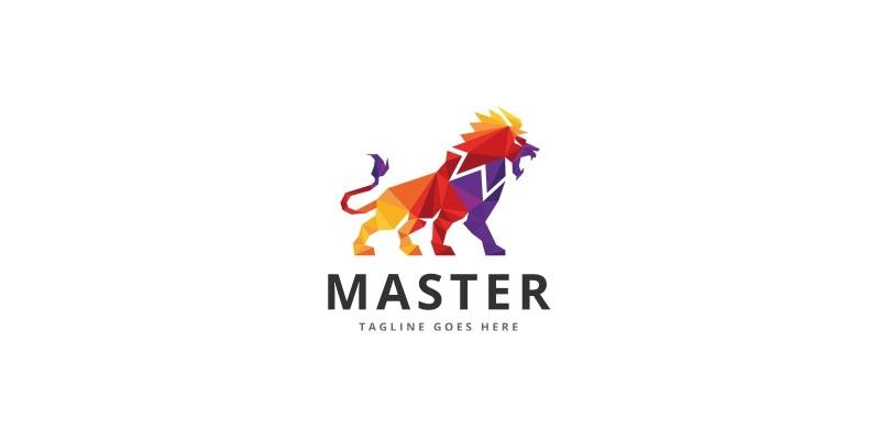 Lion Master Professional Logo