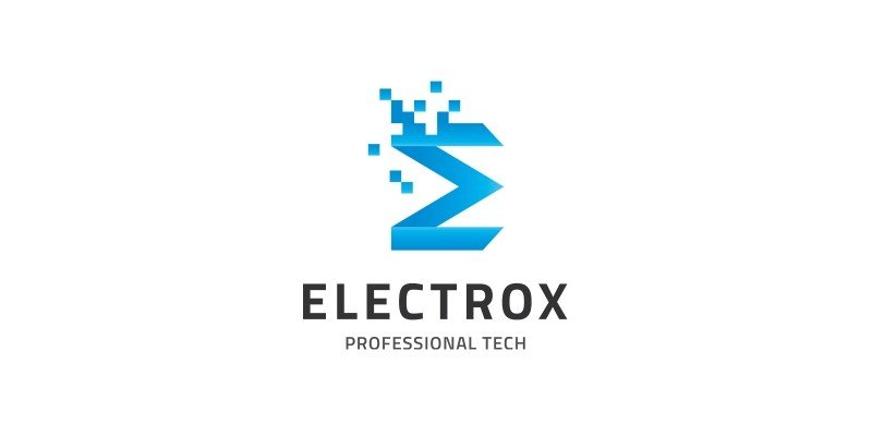 Electrox - Letter E Logo