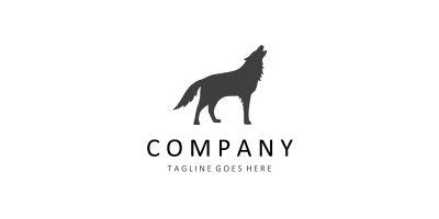 Wolf Logo Template - Animal Logo