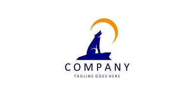 Wolf Logo - Simple and modern animal logo