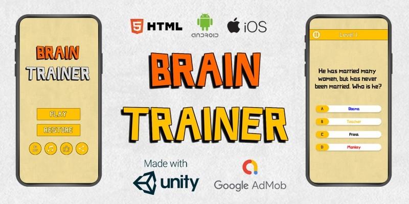 Offline Quiz Brain Trainer - Complete Unity Projec