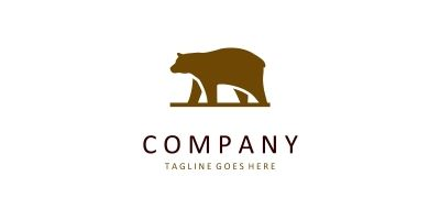 Bear Logo. Simple and modern logo