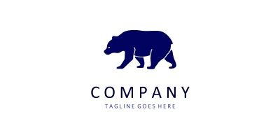 Bear Logo from Animal Logo Collections