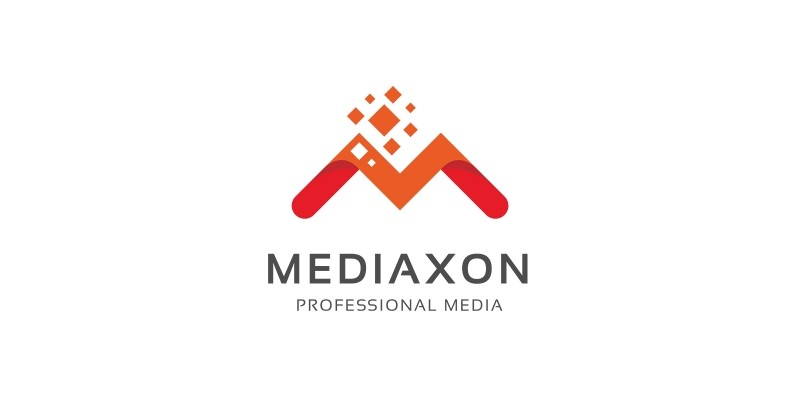 Media Pixel - Letter M Logo