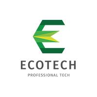 Letter E - Ecotech Logo
