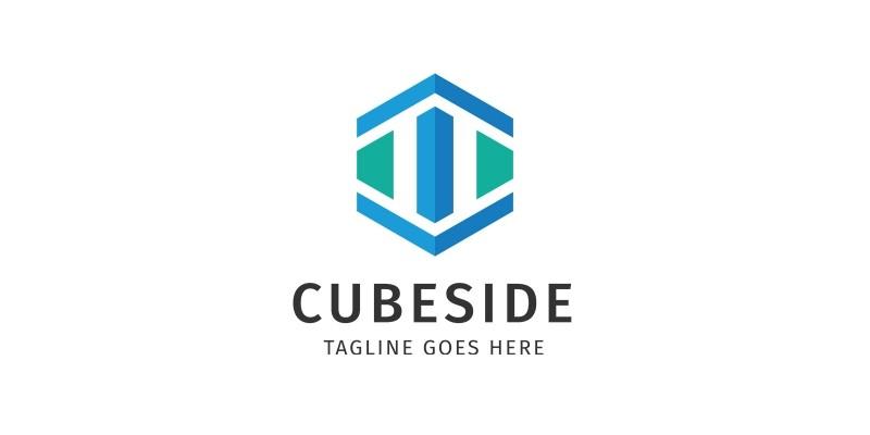Cube side Logo