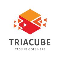 Triangle Cube Logo