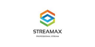 Letter S - Streamax Logo