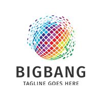 Big bang Explode Logo