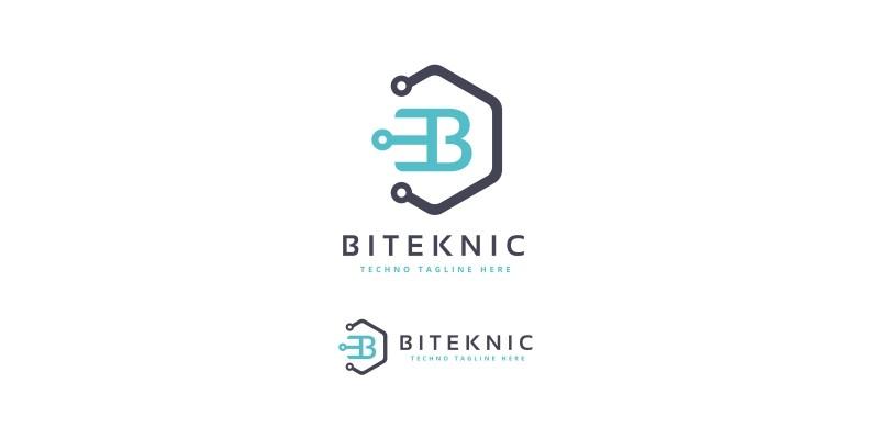 Biteknic Letter B Logo