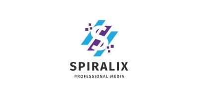 Letter S - Spiralix Logo