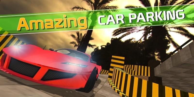 Plaza Car Parking  Simulator Unity