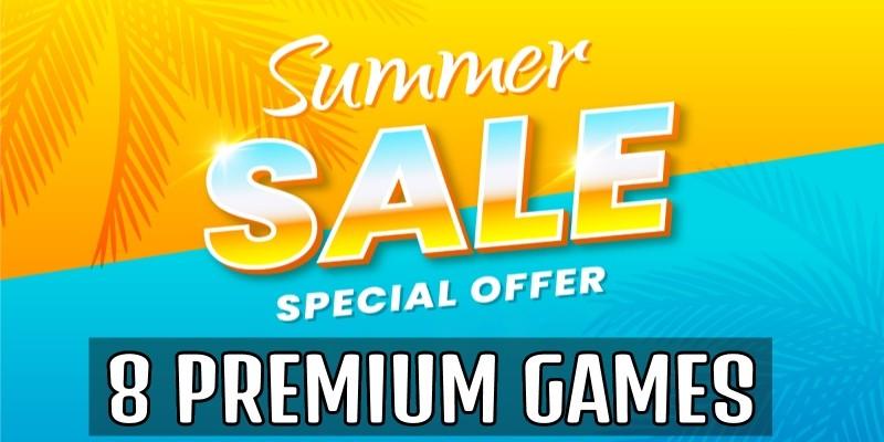 8 Premium Buildbox Games - Summer Sale 2021