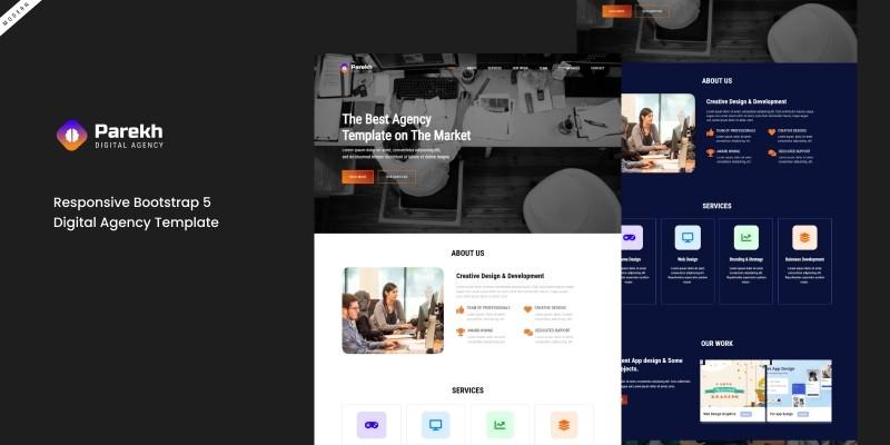 Parekh HTML Templates