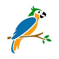 Bird Parrot Logo Design Template