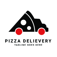 Pizza Delivery Logo Template