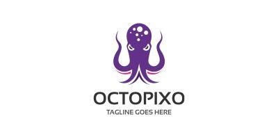 Octopus Pixel Logo