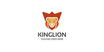 Strong King Lion Logo