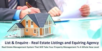 List And Enquire – Real Estate Listings Python