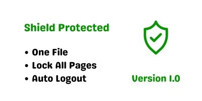 Shield Protected - PHP Script